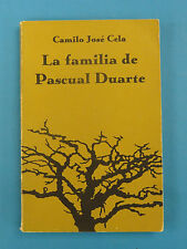 LA FAMILIA DE PASCUAL DUARTE * Camilo Jose Cela 1961 * APPLETON CENTURY CROFTS