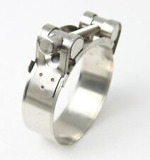 Motorcycle Exhaust Clamp 40-43mm Stainless Steel
