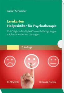 Lernkarten Heilpraktiker für Psychotherapie 616 Original-Multiple-Choice-Prüfung