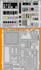 Eduard 1/24 Mosquito FB Mk.VI Interior Detail Set (PE) for Airfix kits