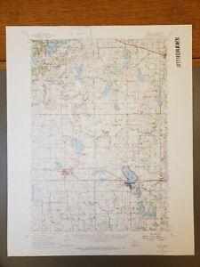 "Cokato, Minnesota Original Vintage 1958 USGS Topo Map 21""x17"""