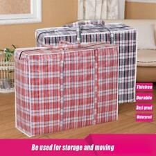 Jumbo Home Laundry Plastic Bag Zipped Reusable Large Strong Storage Bag DR