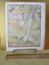 Vintage Print,PIG+APPLE TREE,Golden Goose,L.Leslie Brooke