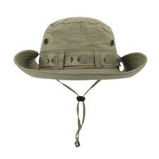 Unisex Summer Sun Hat Outdoor Boonie Hat Wide Brim Bucket Carp Hunting Climbing