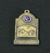 1936 Juniors Swimming Sports Medal CC Tie 1st Place Brass
