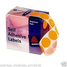 Orange Dot Avery Dispenser Pack 24mm Box of 500 - AD937301