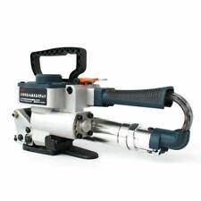 More details for handheld pneumatic strapping machine band strapper strap welding banding baler
