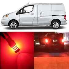 Alla Lighting Brake Turn Signal Light 3157K Red LED Bulbs for Chevy City Express