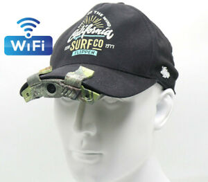 WIFI Cap Hat Brim Camera Video Recording for Hunting Miltary Camping Sport 1080P