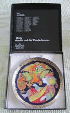 "Rosenthal Studio Linie Bjorn Wiinblad Aladin und die Wunderlampe 6.25"" Plate MIB"