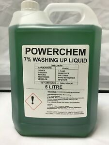 WASHING UP LIQUID BULK REFILL Concentrated Detergent 5L to 20L Wash Up