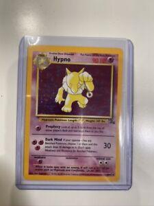 HYPNO - Fossil Set - 8/62 - HOLO Rare - Pokémon Card - Unlimited Edition - NM