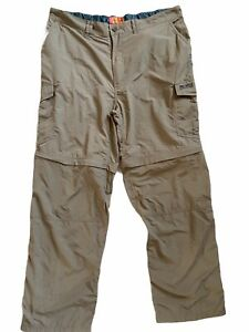 Craghoppers Bear Grylls Convertible Trousers Size 40