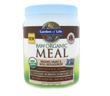 Garden of Life RAW Meal Organic Shake & Meal Replacement Chocolate Cacao 17.9 oz