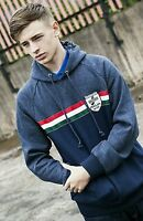 Lambretta Hooded Track Top Innocenti Italia Navy Blue CM9201 Sweat Hoody In Sale
