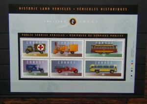 Canada 1994 Historical Automobiles 2nd Issue Miniature Sheet MNH