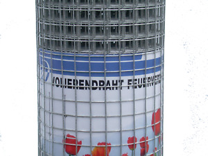 Volierendraht feuerverzinkt Maschendrahtzaun Drahtzaun 6,4 mm Masche Drahtgitter