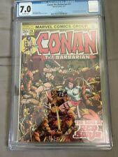 Conan the Barbarian #24 CGC 7.0 1st Full Appearance Red Sonja Marvel Comics 1973