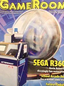 GameRoom Magazine Sega R360 Kevin Keinert's Restore September 2008 012618nonrh2