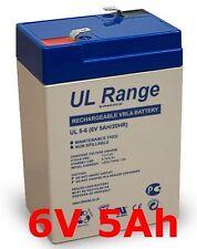 Universal UPG UB645 6V, 4.5Ah Sealed Lead Battery Ocean NP4.5-6 Akku Batterie