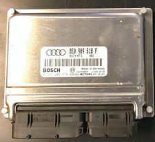 AUDI A4 B6 1.8T ECU  ECM 8E0909518F Immobilizer off, plug and play, PROGRAMMED