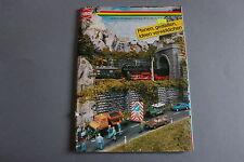 W990BUSCH Train catalogueHo N Z I 1990 74 p 29,7*22 D decor Katalog diorama