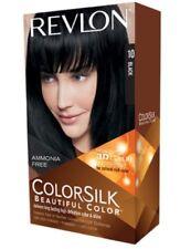 One REVLON COLORSILK Beautiful Color Permanent Ammonia Free Hair Dye - Black #10