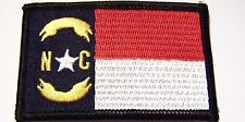 #0086 Motorcycle Vest Patch NORTH CAROLINA STATE FLAG