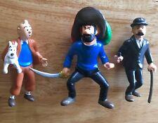 Tintin figurines, 3 inches. Hergé, 1994TL. Plastoy.