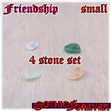 Friendship Companion Kinship Healing Gemstone Kit Set of 4 10mm SMALL Stones