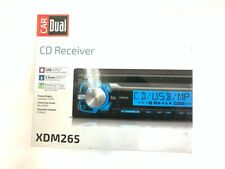 DUAL ELECTRONICS XDM265 Mechless AM & FM USB In Dash Audio (ml-rae) (PBR031133)