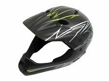 Full Face  BMX Trials Bike Boys Youth Helmet Lid 54-58CM NEW Junior
