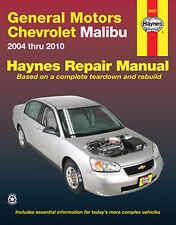 Haynes 38027 Service Repair Manual Chevrolet Malibu 2004 thru 2012