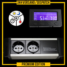 Termostato TERRARIO ACUARIO de alarma cklock Temporizador Digital * pantalla externa * txa