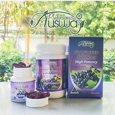 Dietary supplement Ausway grape seed 50000 mg.For beautiful skin OPC substance.