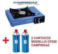 FORNELLO DA TAVOLO CAMP BISTRO IDEALE PER CAMPEGGIO + 2 CARTUCCE GAS CAMPINGAZ