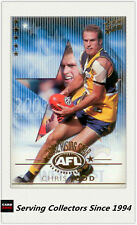 2003 Select AFL XL Ultra Rising Star Nominee RSN2 Chris Judd (West Coast)