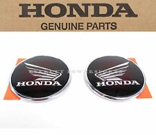 Chrome Tank Emblems Set Honda 12-15 GL1800 Gold Wing F6B Valkyrie Badges #F17 C