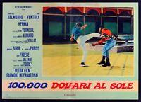 T105 Fotobusta 100000 Dólares En Sol Dólares Au Soleil Belmondo Ventura 8