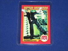 The Monster Frankenstein Horror Figure Wgsh Mego Museum Promo Trading Card