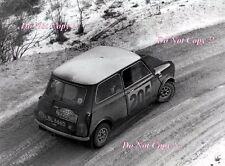 Paddy Hopkirk Mini Cooper S LBL 666D Monte Carlo Rally 1967 Photograph 2