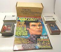 306 Star Trek & The Next Generation Trading Cards/Next Gen. Mag. Vol. 27 '93-'94