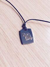 NEW Italy NOMINATION sagittarius pendant necklace charm adjustable cord 18K gold