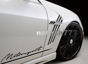 MOTORSPORT Performance Racing Sport Car Truck Auto Decal sticker emblem logo