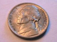 1938-D Jefferson Nickel Choice BU Lustrous Original Gold Tone 5C Cents USA Coin