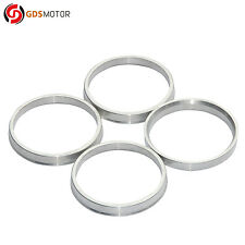 Set of 4 Alloy Aluminum Wheel Hub Centric Rings OD=73.1mm To ID=67.1mm Hubrings