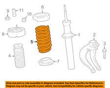 BMW OEM 15-17 X6 Front Suspension-Coil Spring 31336862233