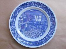 "RORSTRAND FARS DAG 1971 BLUE & WHITE 8¼"" PLATE (Ref4050)"