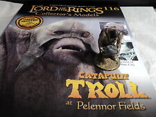 Lord of the Rings Figures - Issue 116 Catapult Troll at Pelennor Fields - no box