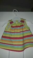 Baby girl top 0-3 months multi coloured
